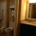 Bathroom in 2BR suite