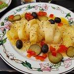 "Raclette ""Spezialität aus dem Wallis"""