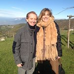 Osvaldo Bevilaqua on set for filming Sereno Variable National TV for BEST AGRITURISMO IN UMBRIA!