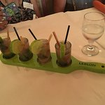 Mojitos made with vodka