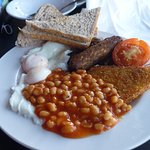Full English Breakfast- Vegetarian Option
