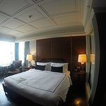 great room and bed