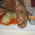 Crispy Whole Red Snapper at Zola Kitchen and Wine Bar, July 15, 2016.