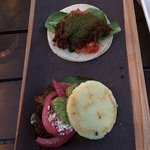 Cubano taco and pork alepa