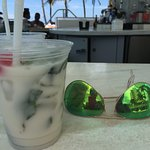 Pool Bar with Coconut Mojito