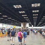 Monstrously-large exhibit halls!