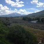 Mt Sopris from the trail