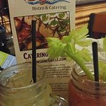 Mmmmm! Terrific Bloody Mary & Mimosa!