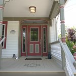 Front porch redone spring 2016