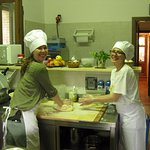 Cooking lesson in the kitchen with Eleonora, a fabulous cook and teacher!!
