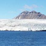 Den imponerende isbræ
