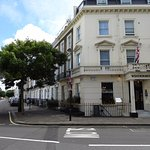 Windermere Hotel, London GB - quiet residential area