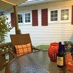 Nice private porch