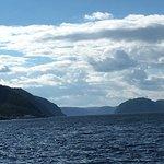 Fjord du Saguenay, là où la rivière Saguenay se jette dans le fleuve St-Laurent