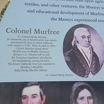 Colonel Murfree - history of Murfreesboro