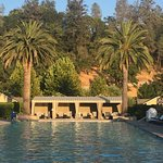 The pool at Solage Calistoga