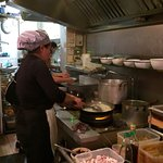 The Kitchen is the heart of the restaurant.