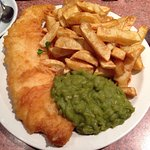 Quaint little Fish n Chip restaurant in the harbour....   Excellent service and fantastic food,