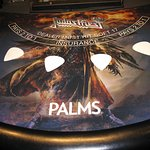 Judas Priest blackjack table. Nov. 2014