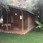 Otel bahçesindeki bungalowda konaklamak bir ayrıcalıktı. 👍🏼👌