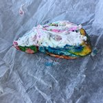 Wagel Bagel w/ funfetti cream cheese.....greatest thing in the history of things.