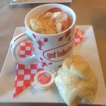 Cup of Lobster Chowder