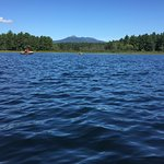 KOA has amazing views from their lake.  Canoe and Kayak rentals just $8/hr.  A bargain for such