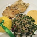 Cod and quinoa