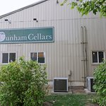 Dunham Cellars is located in a re-purposed hangar on the airport grounds
