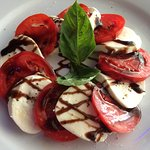 Caprese Salad - good presentation
