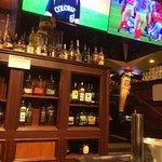 Lower bar area.