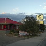 Exterior, old Pizza Hut.