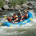 Bear Valley Rafting with seniors, Class 3. Photo by Bear Valley Rafting Co.