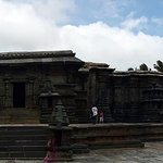 Panorama shot of the main temple structure