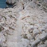 le chemin d'accés
