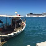 Retour au bateau à Katkolon