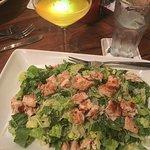 Chicken Caesar Salad + $11.50 drink