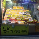 olle market - seogwipo jeju island