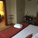 Upgraded to a two room suite. Room 405
