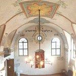 Krásný interiér synagogy