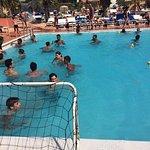 Party mousse et tournoi de waterpolo