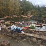Strawberry hot springs!