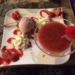 La soupe de fraises 🍓🍓🍓🍓... Un régal!!!