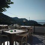 Ladiko restaurant terrace