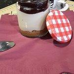 Cheesecake servido en Tarrito