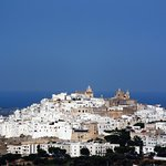 View of Ostuni from the room