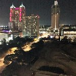 city view room at night