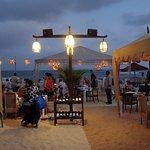 köstlich direkt am Strand dinieren