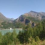 Vue depuis la route des 2 Alpes