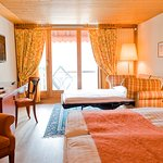Triple room standard and with Jungfrau View and balcony